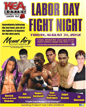 KEA Boxing at Mount Airy