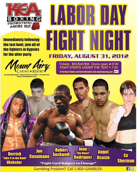 Labor Day Fight Nights at Mount Airy