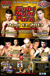Fight Night at the Park presented by KEA Boxing