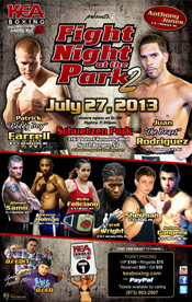 Fight Night at the Park II presented by KEA Boxing