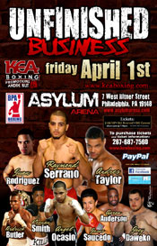 Unfinished Business presented by KEA Boxing