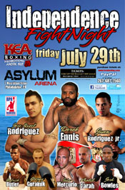 Independence presented by KEA Boxing