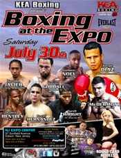 Kea Boxing presents Boxing at the Expo