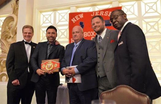 Andre Kut inducted into NJ Boxing Hall of Fame